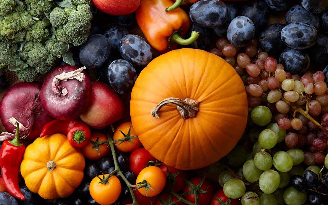 10 Frutas y Verduras para probar esta temporada – Edición de Otoño